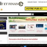 Annuaire des sites internet du droit et de la finance