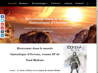 Ocrena roman de science-fiction par Paul Maltais écrivain français
