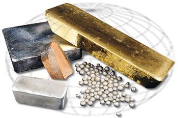 métaux