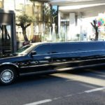 Transfert événementiel en limousine stretch avec Royal Road Nice